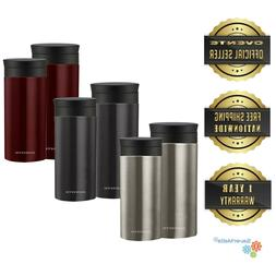 Ovente Travel Mug with Flavor Infuser Hot/Cool Thermos Vacuu