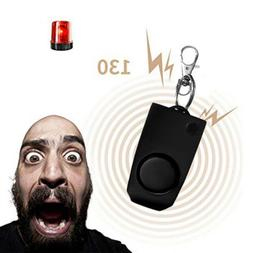Personal Emergency Self-Defense Security Alarm Keychain for