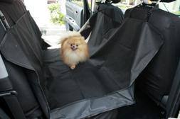 Paws & Pals Pet Dog Car Seat Cover for Rear Bench Seat, 58""