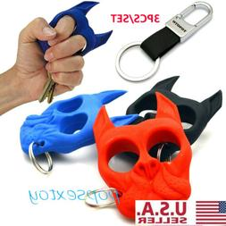 Plastic Dog-Self-Defense Tools Portable Key Chain Outdoor Tr
