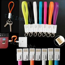 Portable Key Chain Ring Micro USB Charger Cable for Samsung