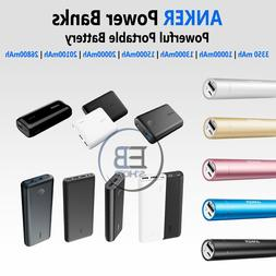 Anker Power Bank Portable Battery Charger 3350 5000 10000 15