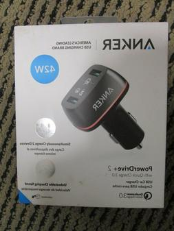 * Anker PowerDrive+ 2 w/ Quick Charge 3.0 BRAND NEW