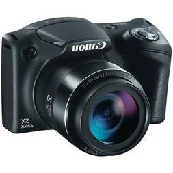 PowerShot SX420 IS 20 Megapixel Compact Camera - Black