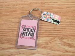 Country Girl Rebel Babe Collectible Novelty Key Chain With T