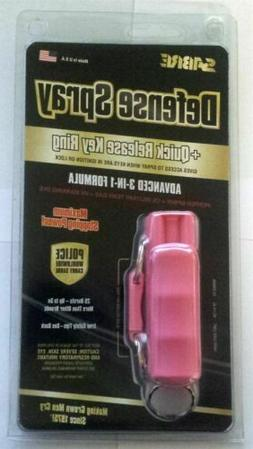 SABRE Red Pepper Spray - Police Strength - Compact, Case & Q