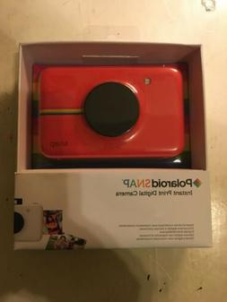 Red Polaroid Snap Instant PRINT Digital Camera BRAND NEW
