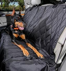 4Knines Regular Split Rear Seat Waterproof Non-Slip Cover wi