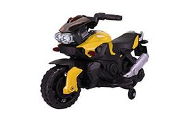 Kids Ride On 6V Electric Powered Motorcycle Bike Toy with Tr