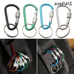 Safety Equipment Carabiner Buckle Keychain Camping Hiking Ho