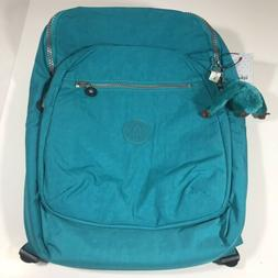 Kipling Seoul Large Backpack Laptop Sleeve Paradise Green NW