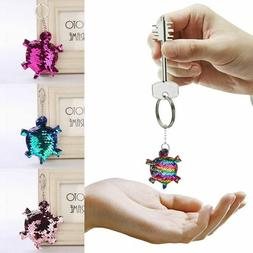 Sequins Key-Chain Glitter For Car Bag Pendant Accessories Wo
