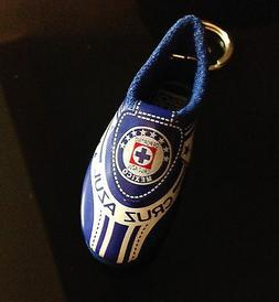 Soccer Souvenir Shoe Key-chain replica Cruz Azul Team  - Uni