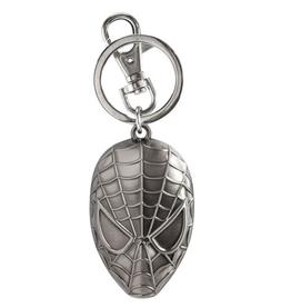 Marvel Marvel Spider-Man Head Metal Pewter Silver Key Ring N