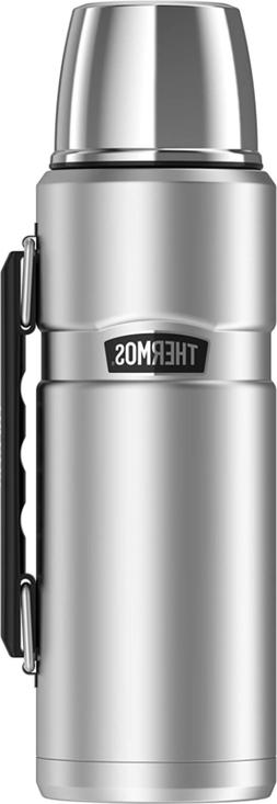 Thermos Stainless King Vacuum-Insulated Beverage Bottle, 40