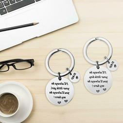 Stainless Steel Keychain Perfect Men's Novelty Love Keychain