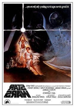 STAR WARS MOVIE POSTERS - Classic Movie Artwork