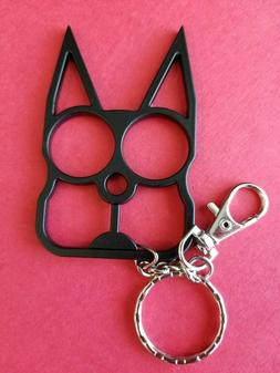 The Source Force Cat Shaped Self-Defense Keychain -Black 857
