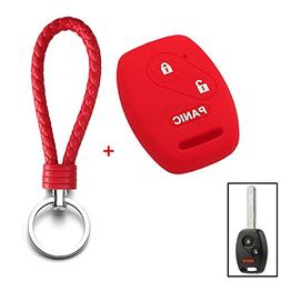Thor-Ind Silicone Key Fob Cover Case Smart Key Shell Protect