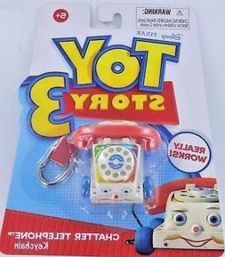 Toy Story Fisher-Price CHATTER TELEPHONE Keychain Keyring Ph