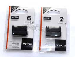 Two NP-FW50  battery For Sony A5000 A5100 A7R NEX 6 7 5TL 5N