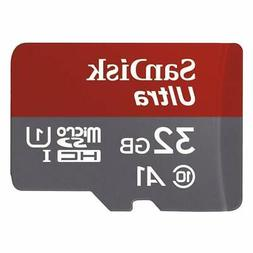 SanDisk Ultra 32GB microSDHC UHS-I card with Adapter - 98MB/