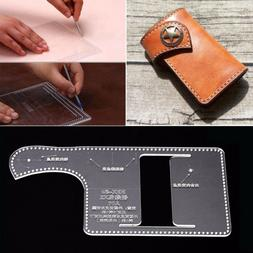 US Acrylic key chain case holder Template Leather craft Patt