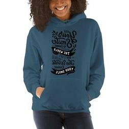 Use Your Smile Hoodies