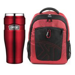 "Thermos Vacuum Insulated 16oz Tumbler w/ 15.4"" Laptop Backpa"