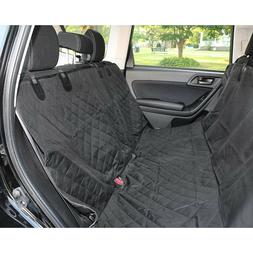 Scratch Proof Dog Seat Cover with Seat Belt for Back Seat of