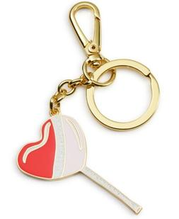 Twelve NYC Womens Heart Brass Novelty Basic Key Ring
