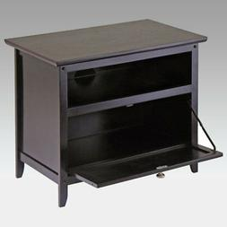 Winsome Wood Zara 25-Inch TV Stand